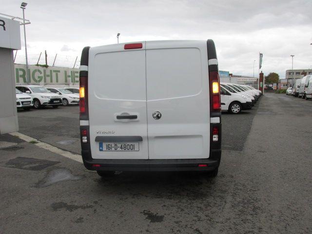 2016 Vauxhall Vivaro 2900 L2H1 CDTI P/V (161D48001) Image 4