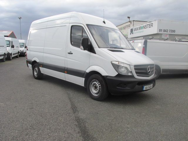 2016 Mercedes Sprinter 313 CDI MWB  H/ROOF - OVER A 100 VANS TO CHOOSE FROM IN VM SANTRY - (161D48041)
