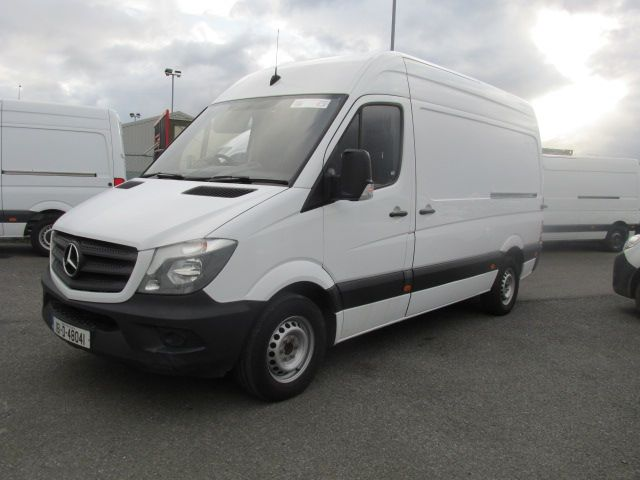2016 Mercedes Sprinter 313 CDI MWB  H/ROOF - OVER A 100 VANS TO CHOOSE FROM IN VM SANTRY - (161D48041) Image 7