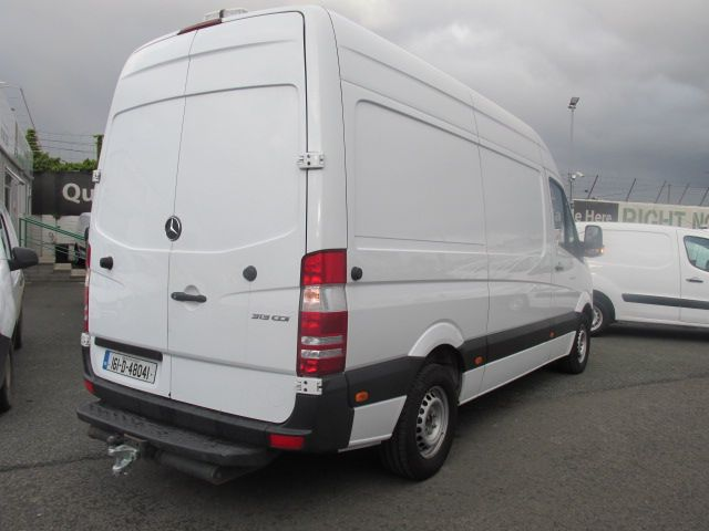2016 Mercedes Sprinter 313 CDI MWB  H/ROOF - OVER A 100 VANS TO CHOOSE FROM IN VM SANTRY - (161D48041) Image 3