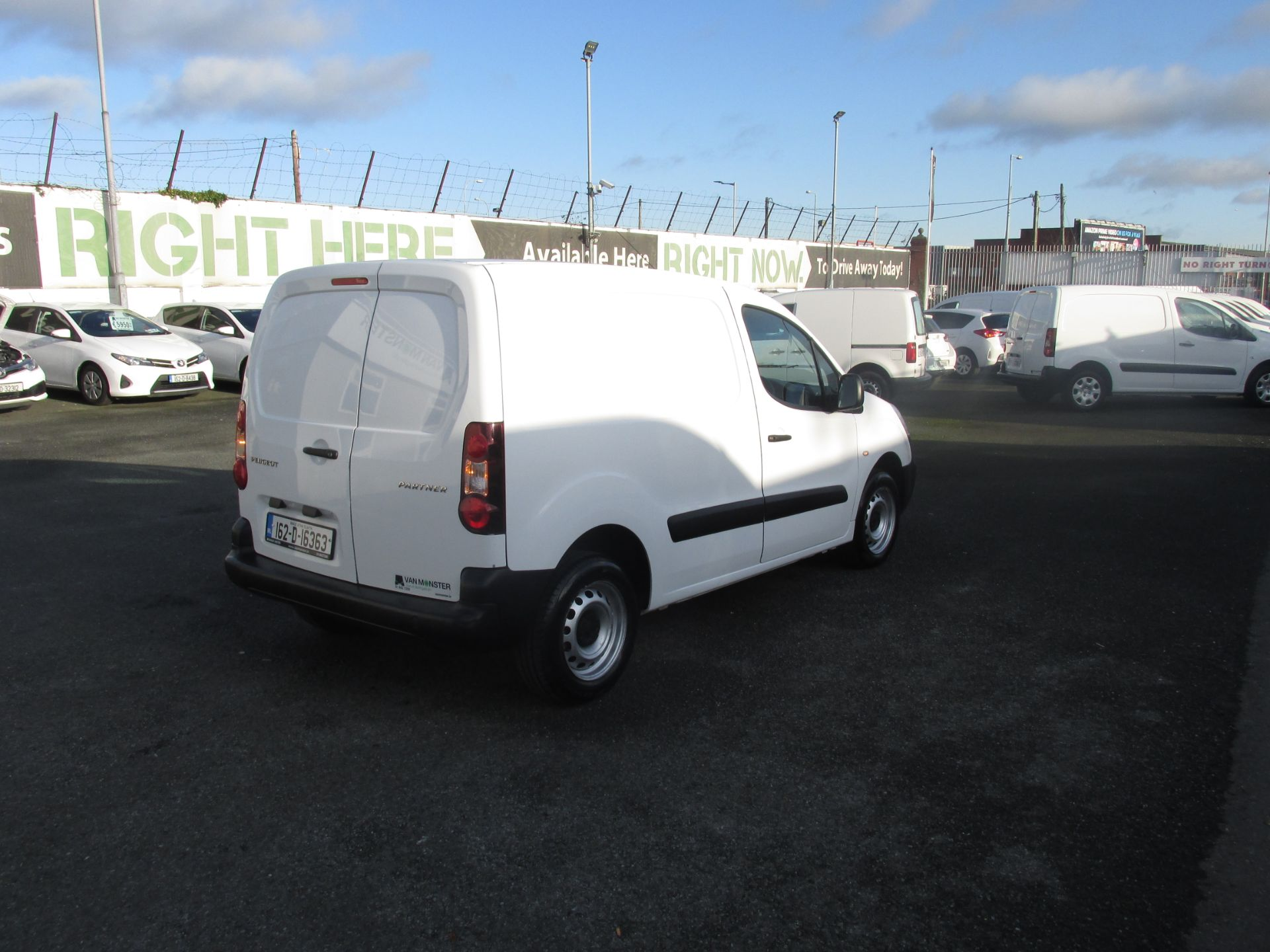 2016 Peugeot Partner #150 VANS TO VIEW IN SANTRY # (162D16363) Image 7