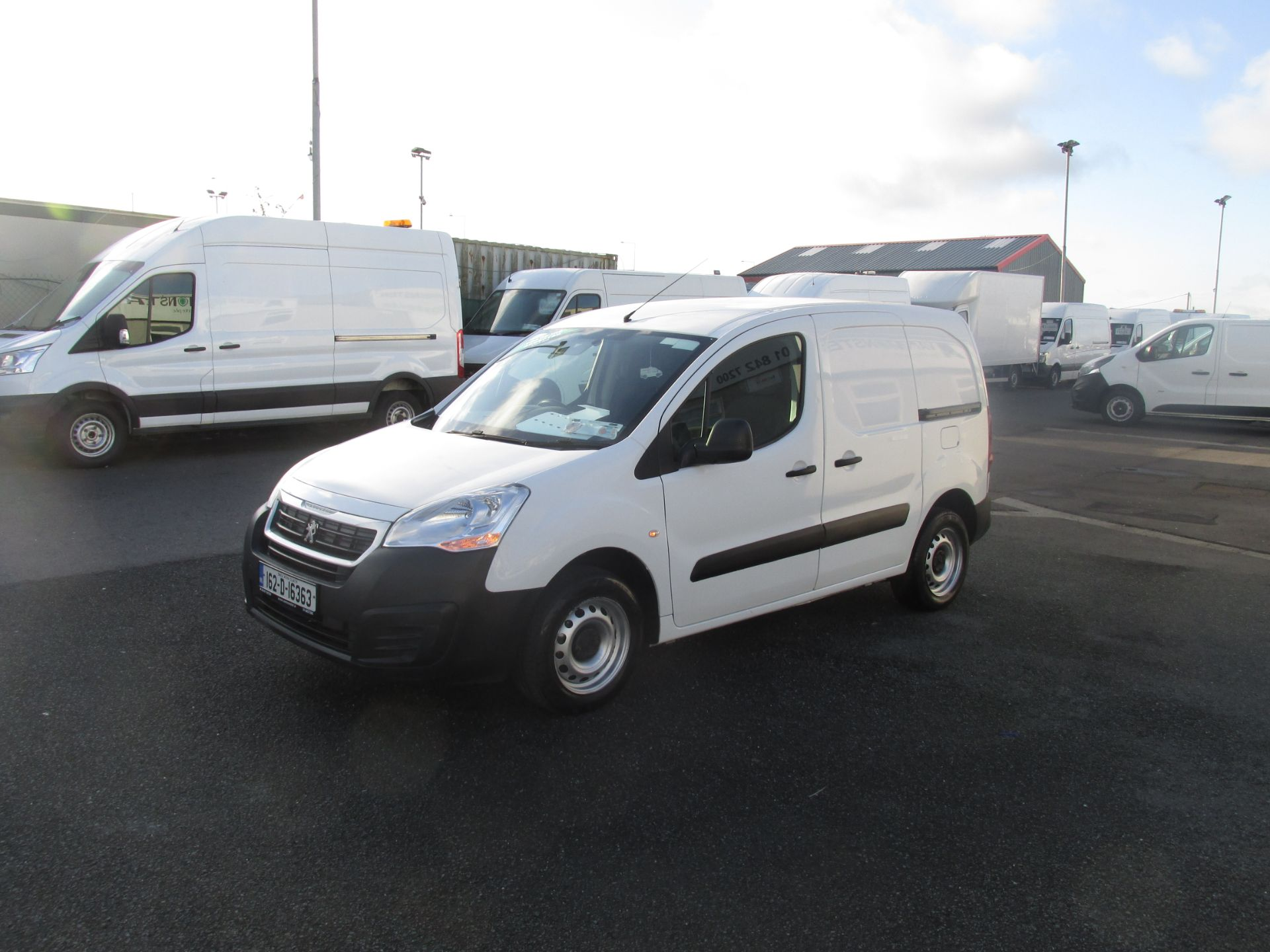2016 Peugeot Partner #150 VANS TO VIEW IN SANTRY # (162D16363) Image 3