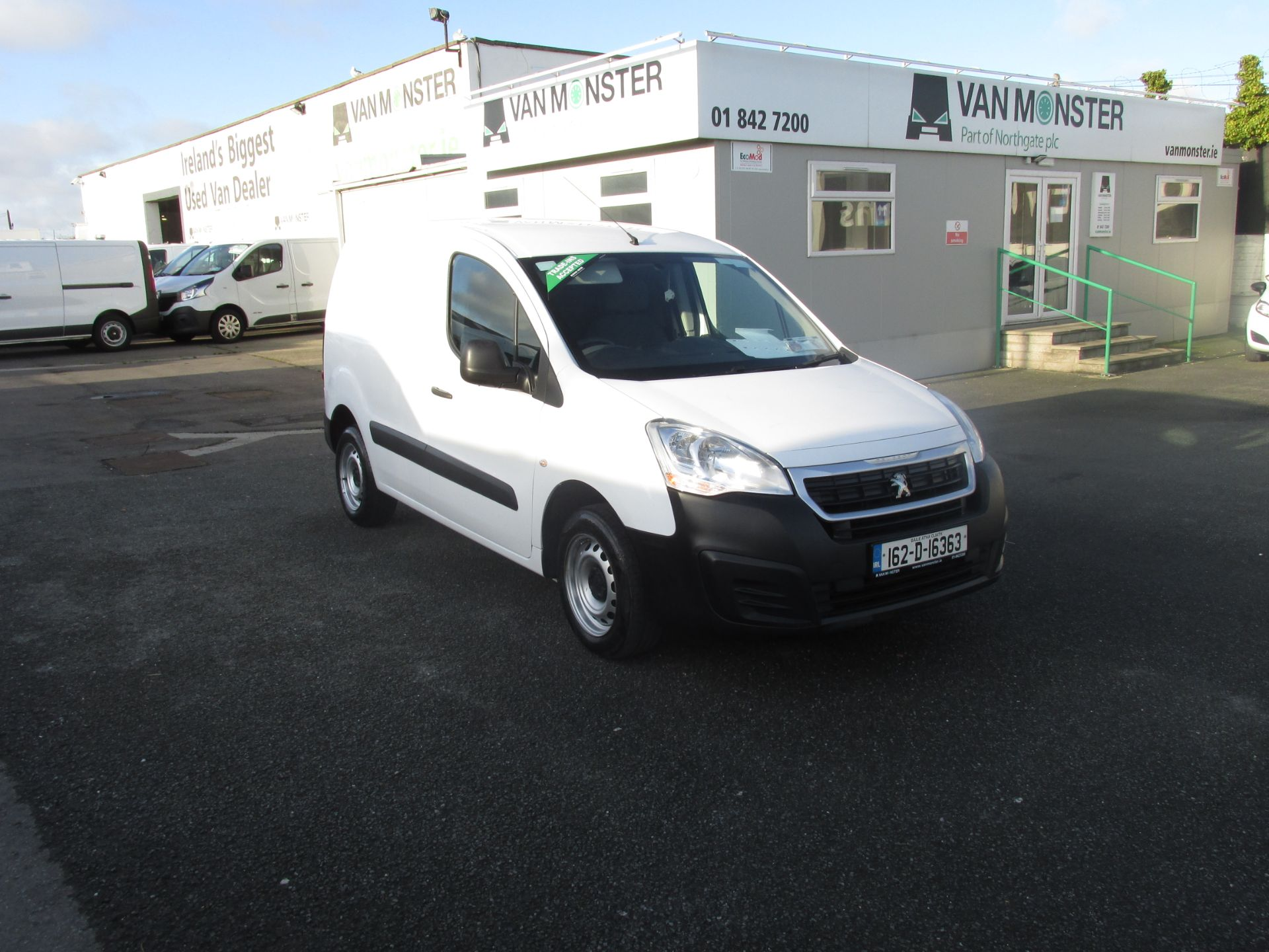 2016 Peugeot Partner #150 VANS TO VIEW IN SANTRY # (162D16363) Image 1