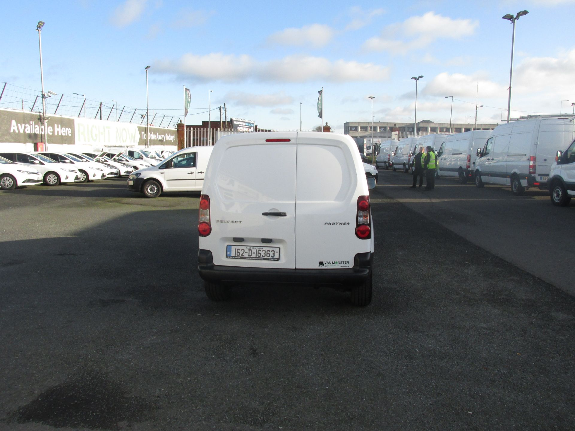 2016 Peugeot Partner #150 VANS TO VIEW IN SANTRY # (162D16363) Image 6