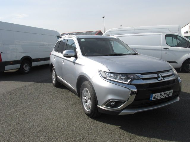 2016 Mitsubishi Outlander Outl 4WD 6MT 16MY 4DR - LOW MILES - FSH - SILVER MET -  (162D20680)