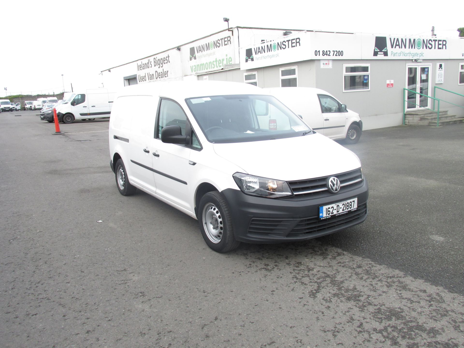 2016 Volkswagen CADDY MAXI C20 TWIN SLIDING DOORS (162D21887)