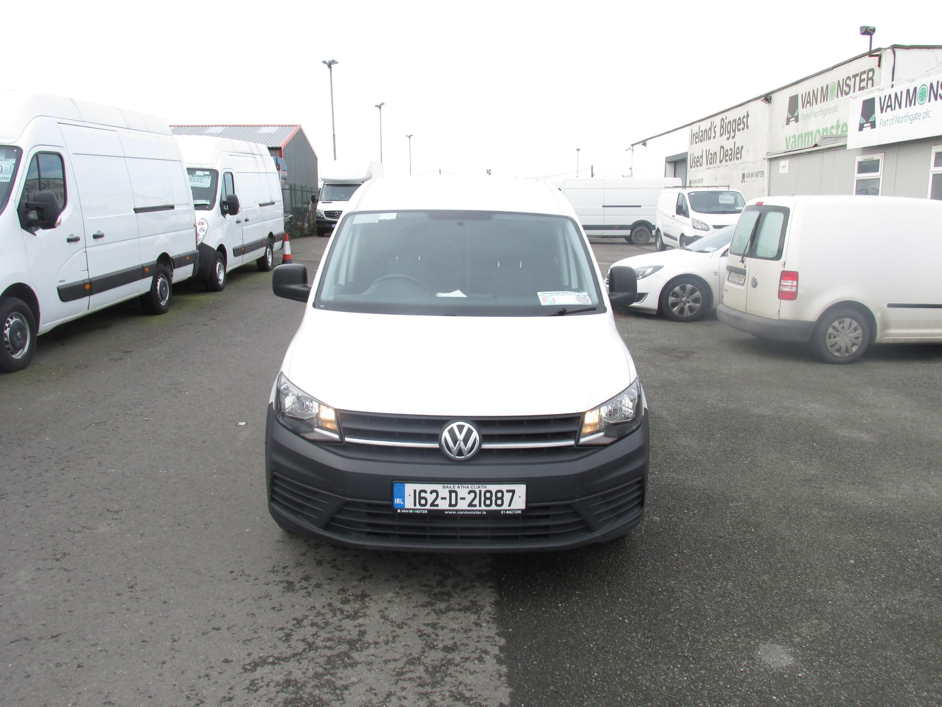 2016 Volkswagen CADDY MAXI C20 TWIN SLIDING DOORS (162D21887) Image 2