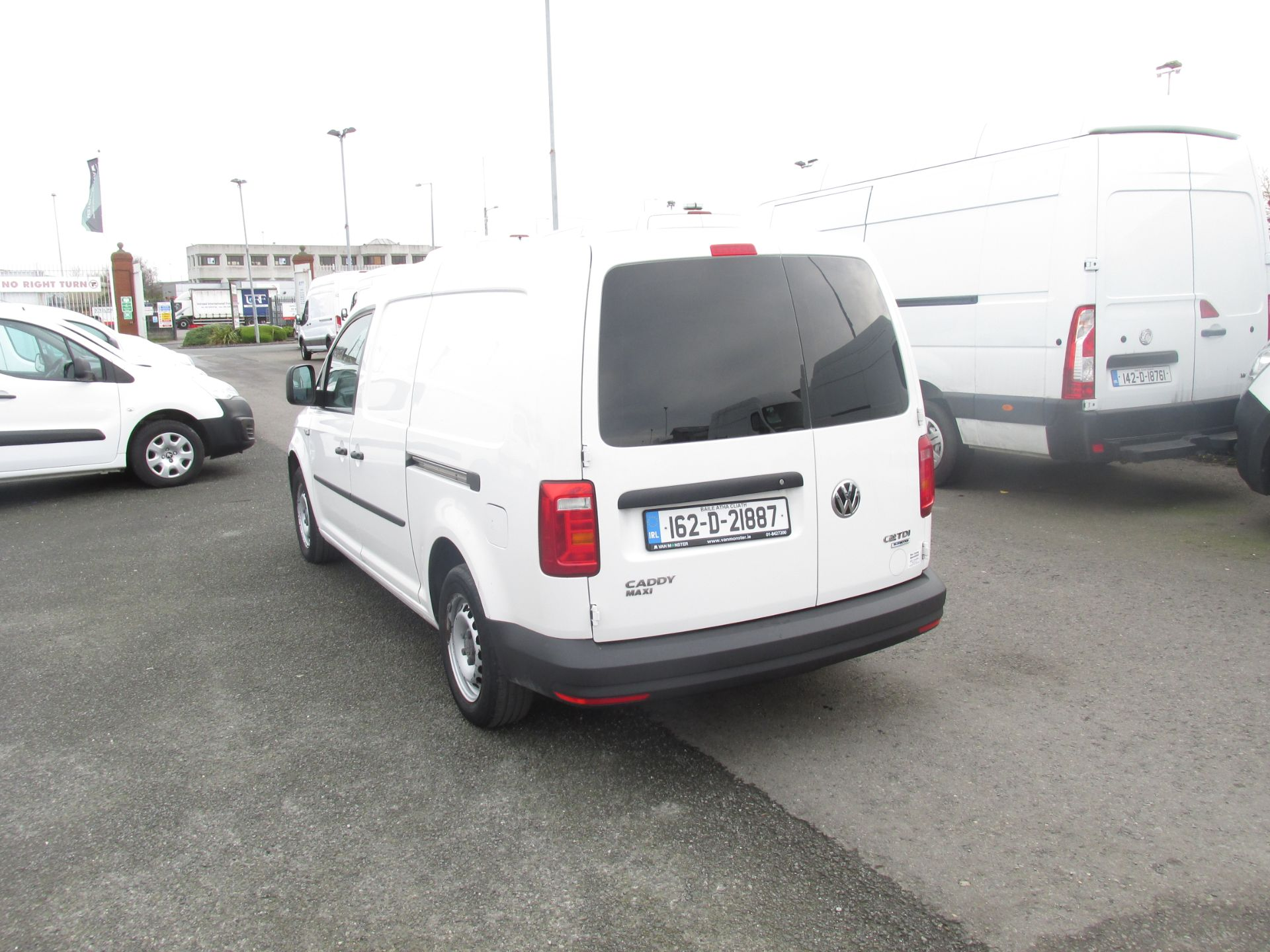 2016 Volkswagen CADDY MAXI C20 TWIN SLIDING DOORS (162D21887) Image 5