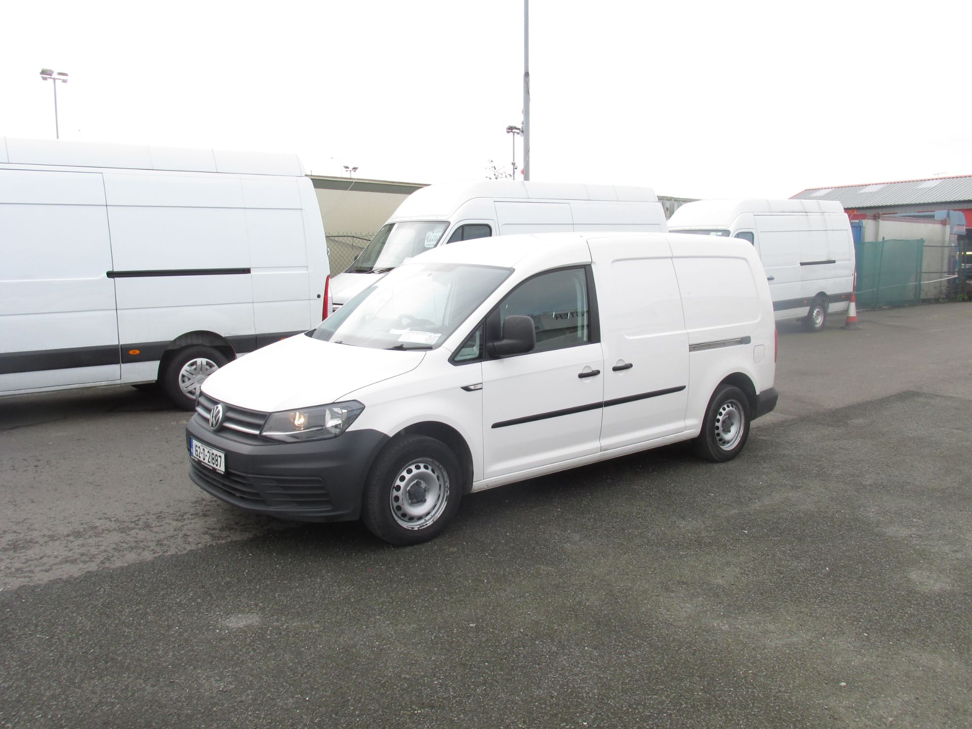 2016 Volkswagen CADDY MAXI C20 TWIN SLIDING DOORS (162D21887) Image 3