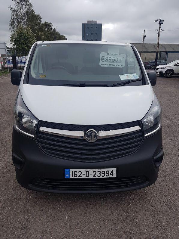 2016 Vauxhall Vivaro LWB Van 2900 5Dr. (162D23994) Image 2