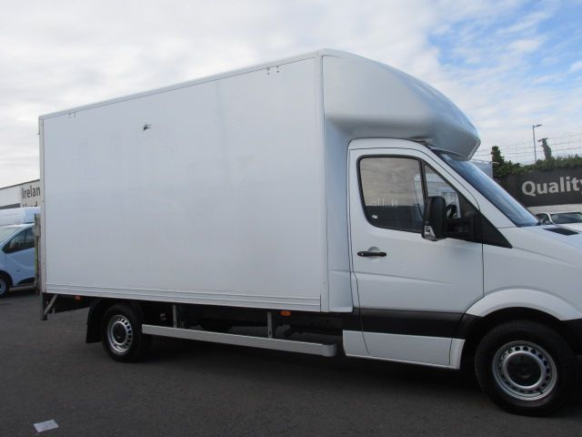 2016 Mercedes-Benz Sprinter 314CDI - LUTON BOX  &  TAIL LIFT - (162D25012) Image 2