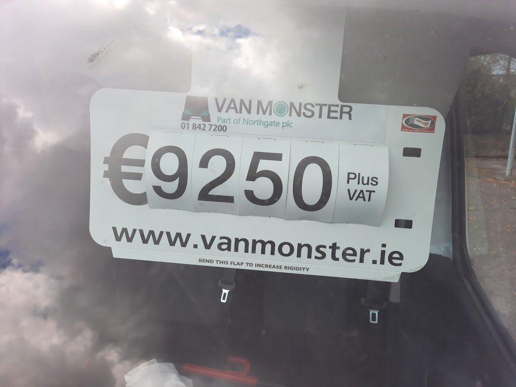 2016 Vauxhall Vivaro 2900 L2H1 CDTI P/V (162D25015) Image 3