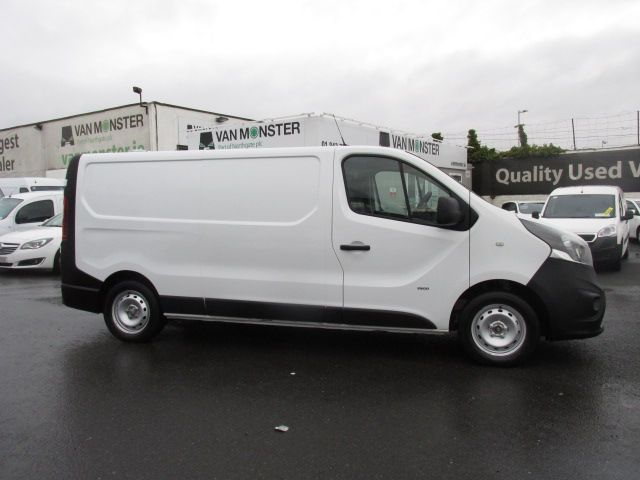 2016 Vauxhall Vivaro 2900 L2H1 CDTI P/V (162D25152) Image 2