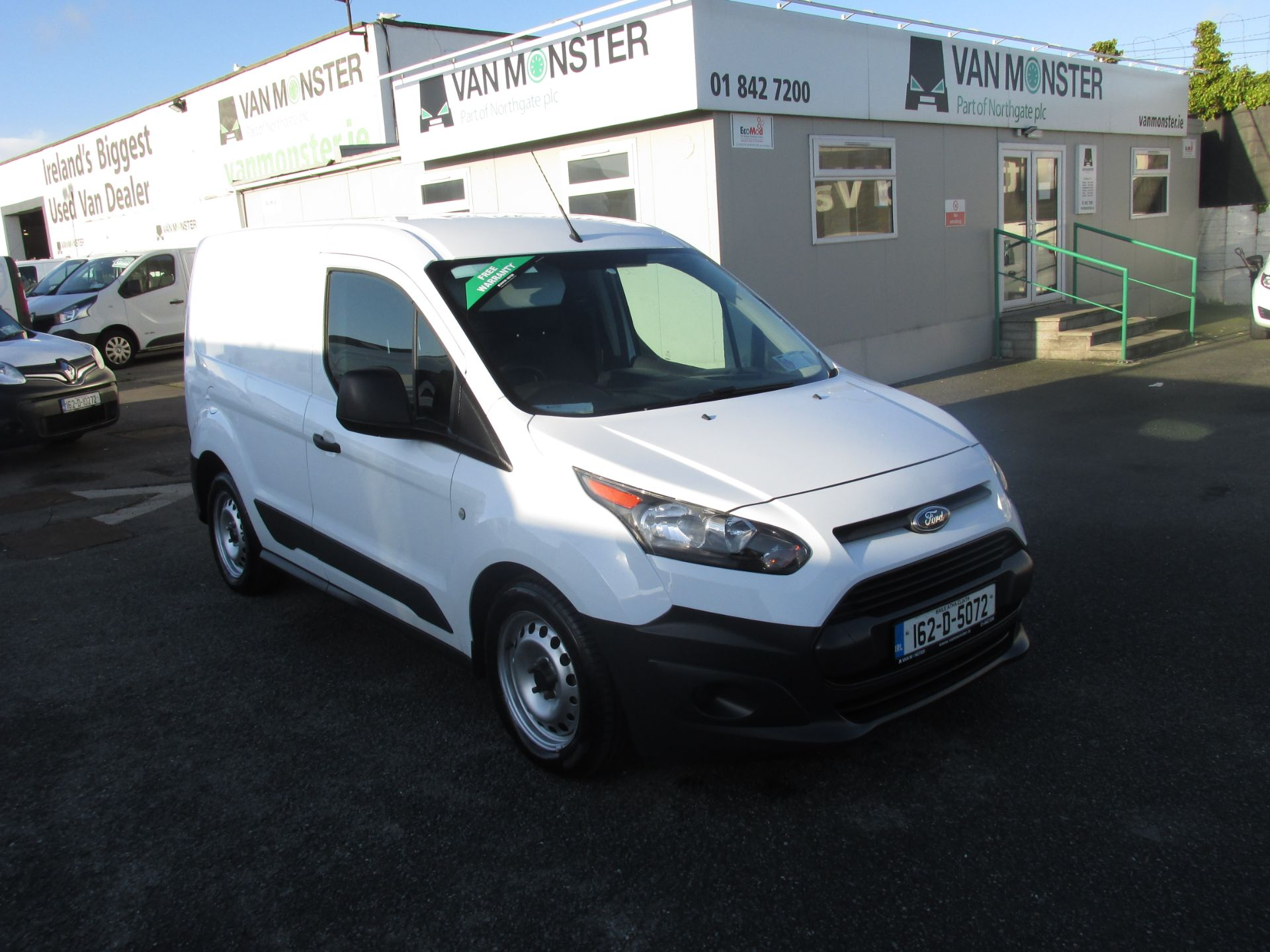 2016 Ford Transit Connect T Connect SWB 1.5TD 75PS 5SPD (162D5072)