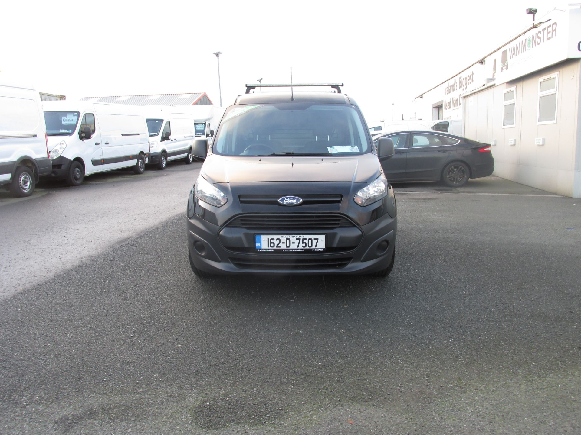 2016 Ford Transit T Connect SWB 1.5TD 75PS 5SPD - DEAL OF THE WEEK - R/RACK - PLY LINED -BLACK (162D7507) Image 8