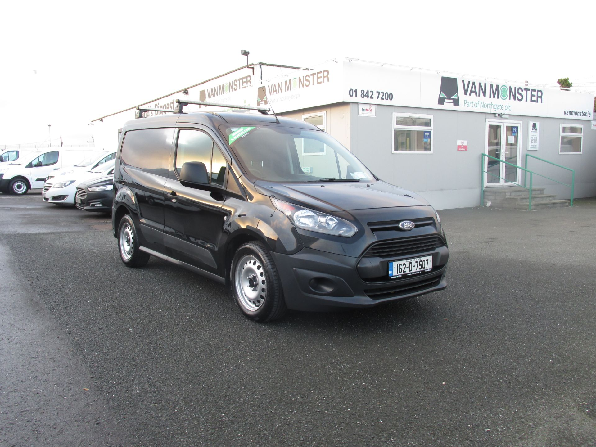 2016 Ford Transit T Connect SWB 1.5TD 75PS 5SPD - DEAL OF THE WEEK - R/RACK - PLY LINED -BLACK (162D7507)
