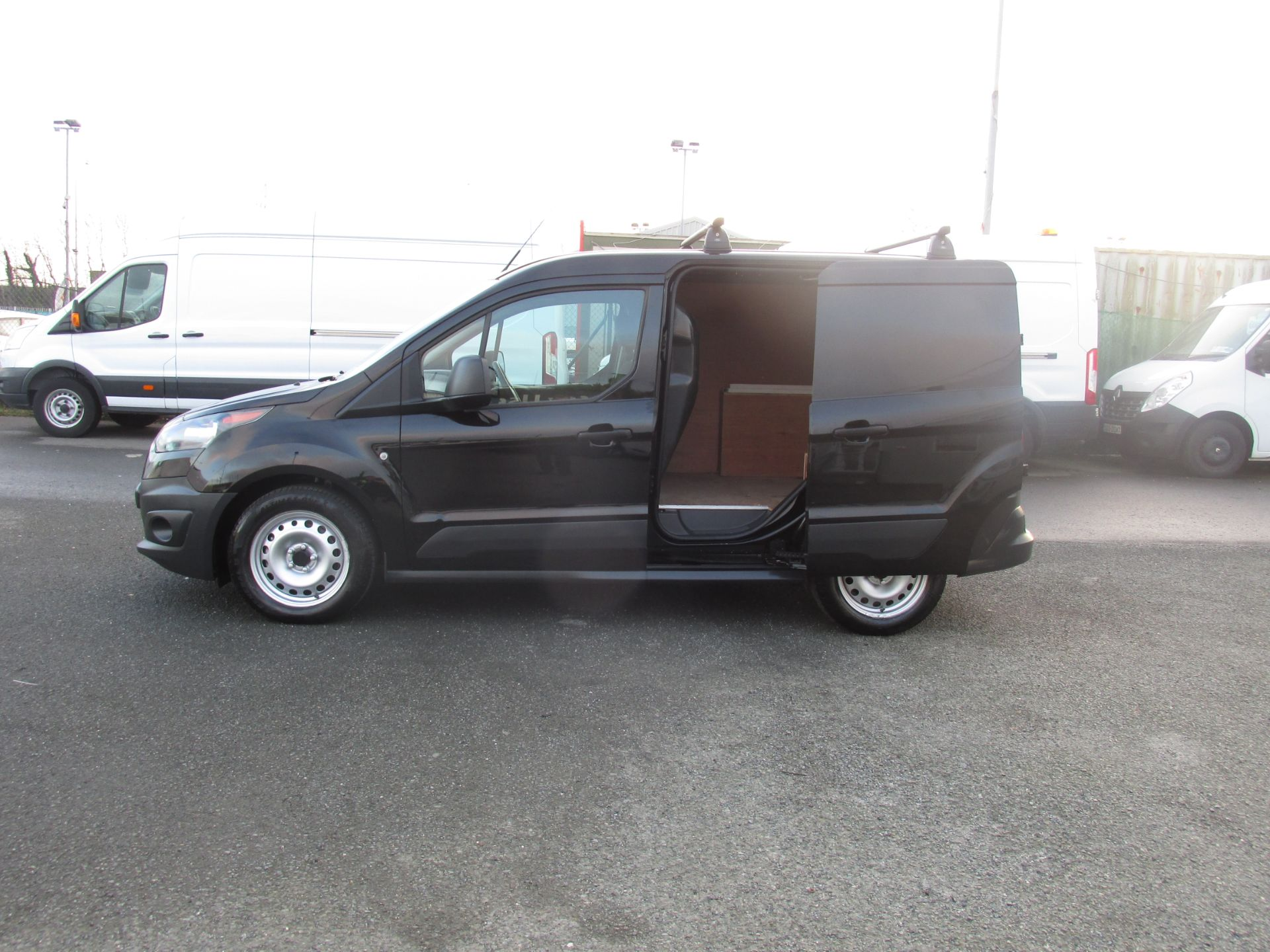 2016 Ford Transit T Connect SWB 1.5TD 75PS 5SPD - DEAL OF THE WEEK - R/RACK - PLY LINED -BLACK (162D7507) Image 10