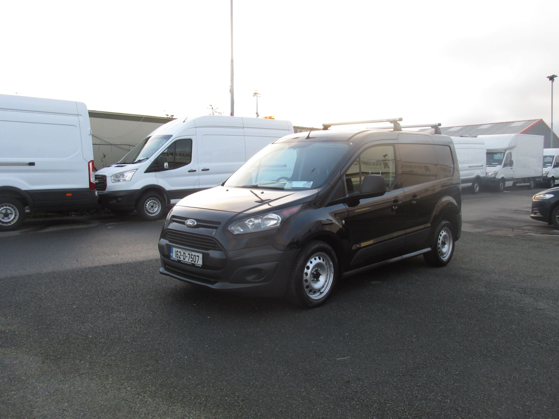 2016 Ford Transit T Connect SWB 1.5TD 75PS 5SPD - DEAL OF THE WEEK - R/RACK - PLY LINED -BLACK (162D7507) Image 7
