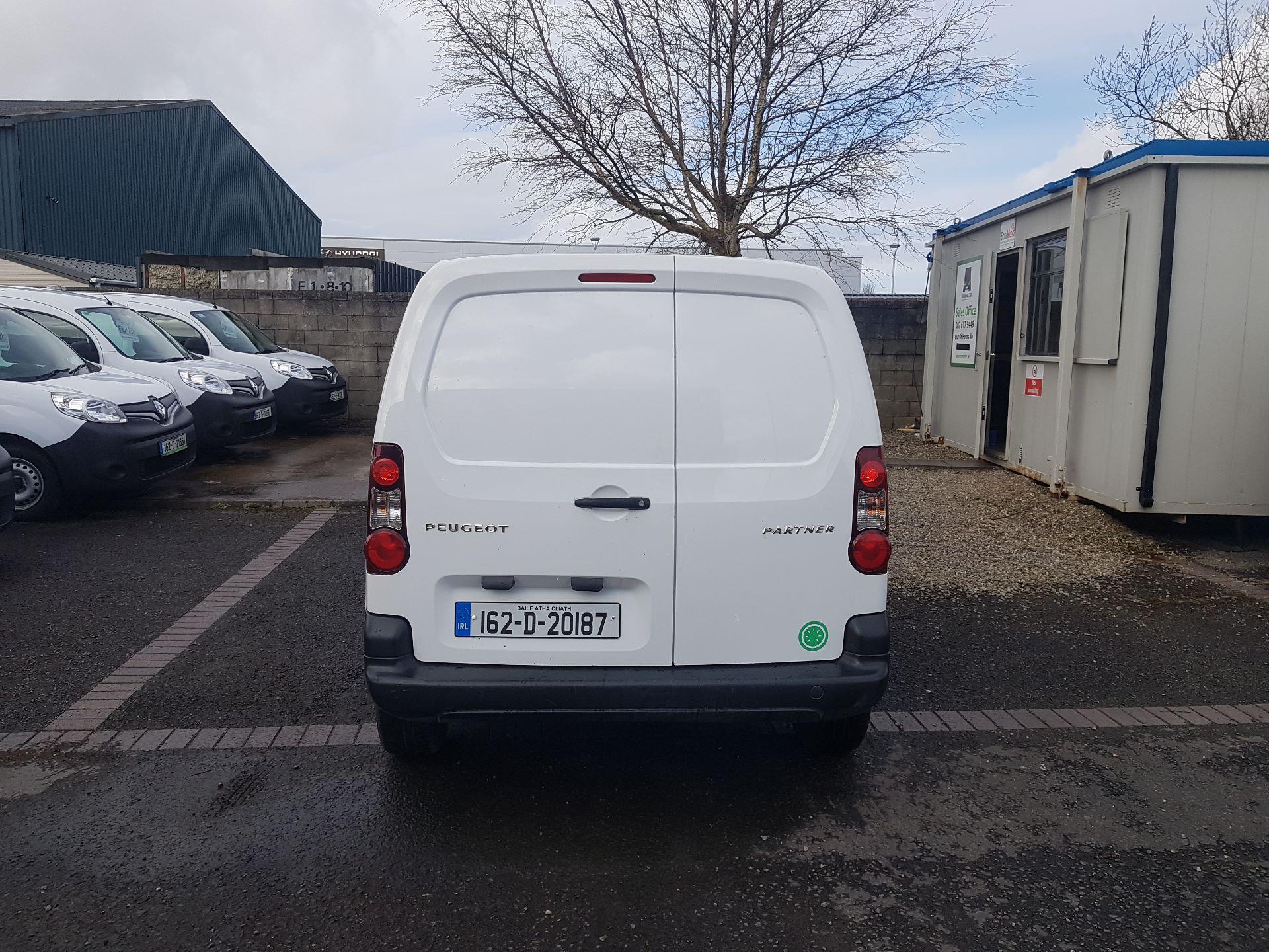2016 Peugeot Partner Access 1.6 HDI 92 3DR (162D20187) Image 4