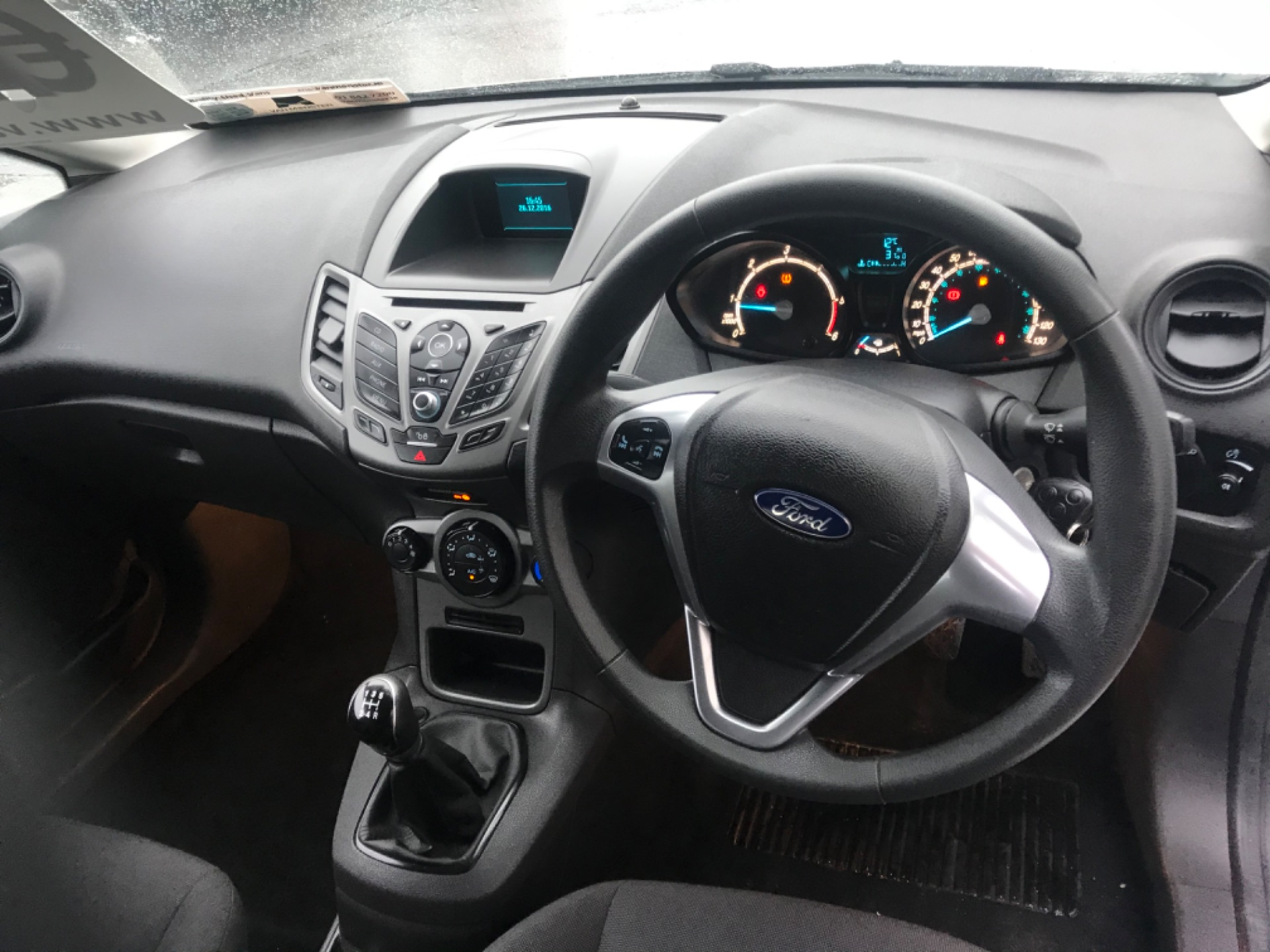2016 Ford Fiesta BASE TDCI (162D24984) Image 11