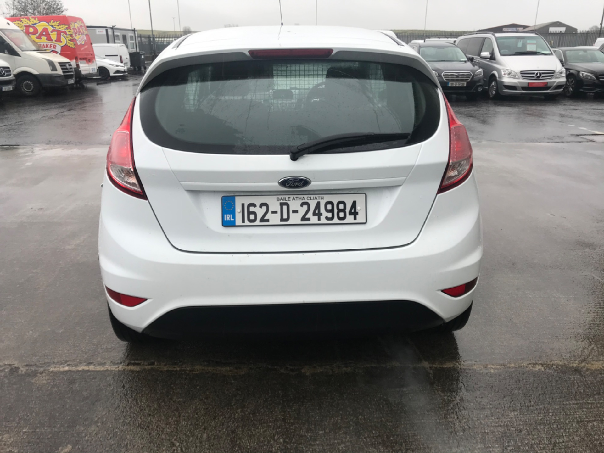 2016 Ford Fiesta BASE TDCI (162D24984) Image 5