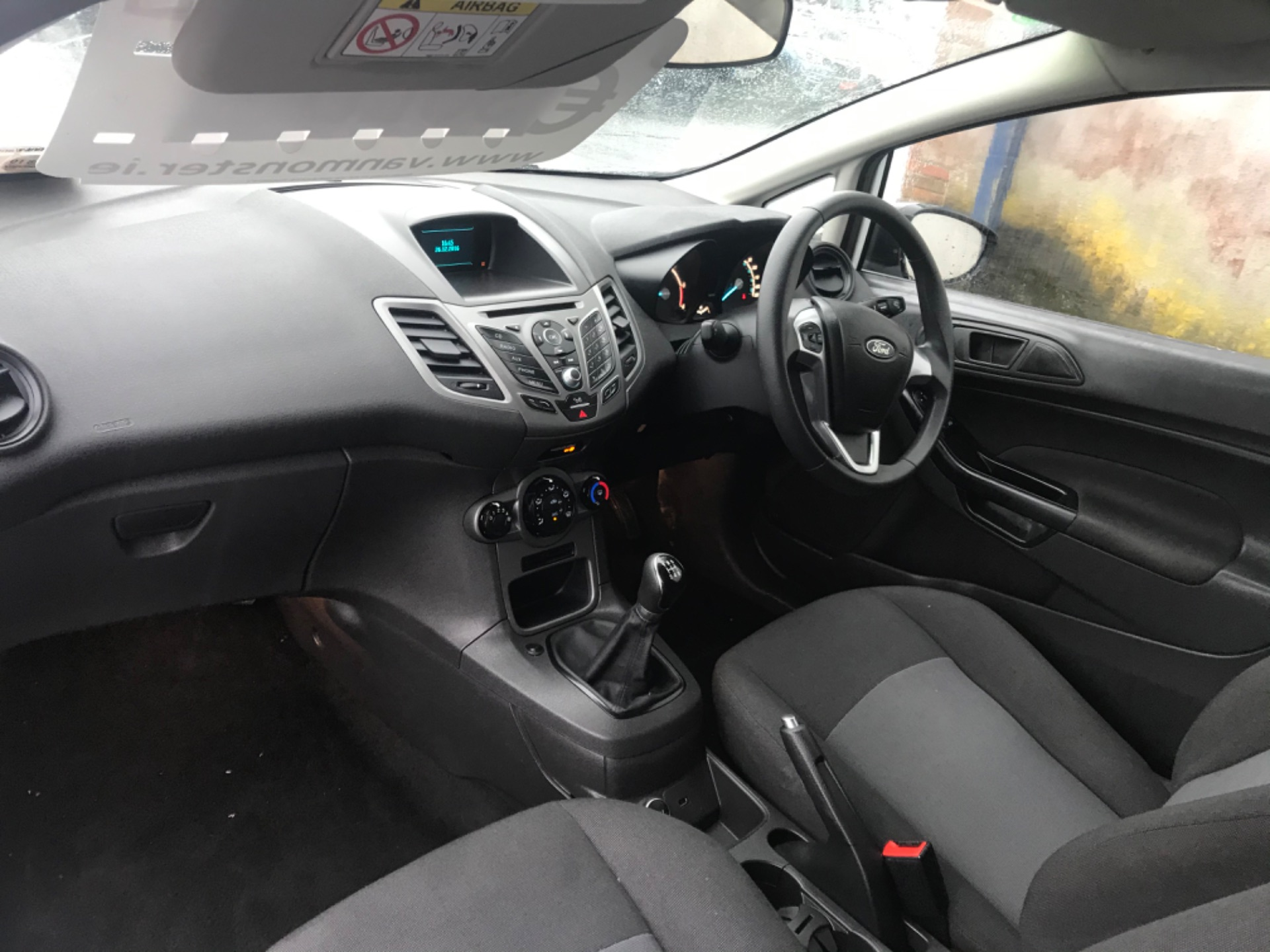 2016 Ford Fiesta BASE TDCI (162D24984) Image 10