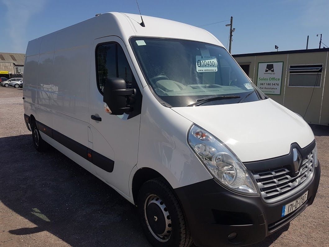 2017 Renault Master FWD LM35 DCI 125 Business 3DR (171D17817)
