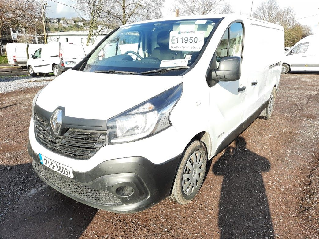 2017 Renault Trafic LL29 DCI 120 Business 3DR (171D38031) Image 17