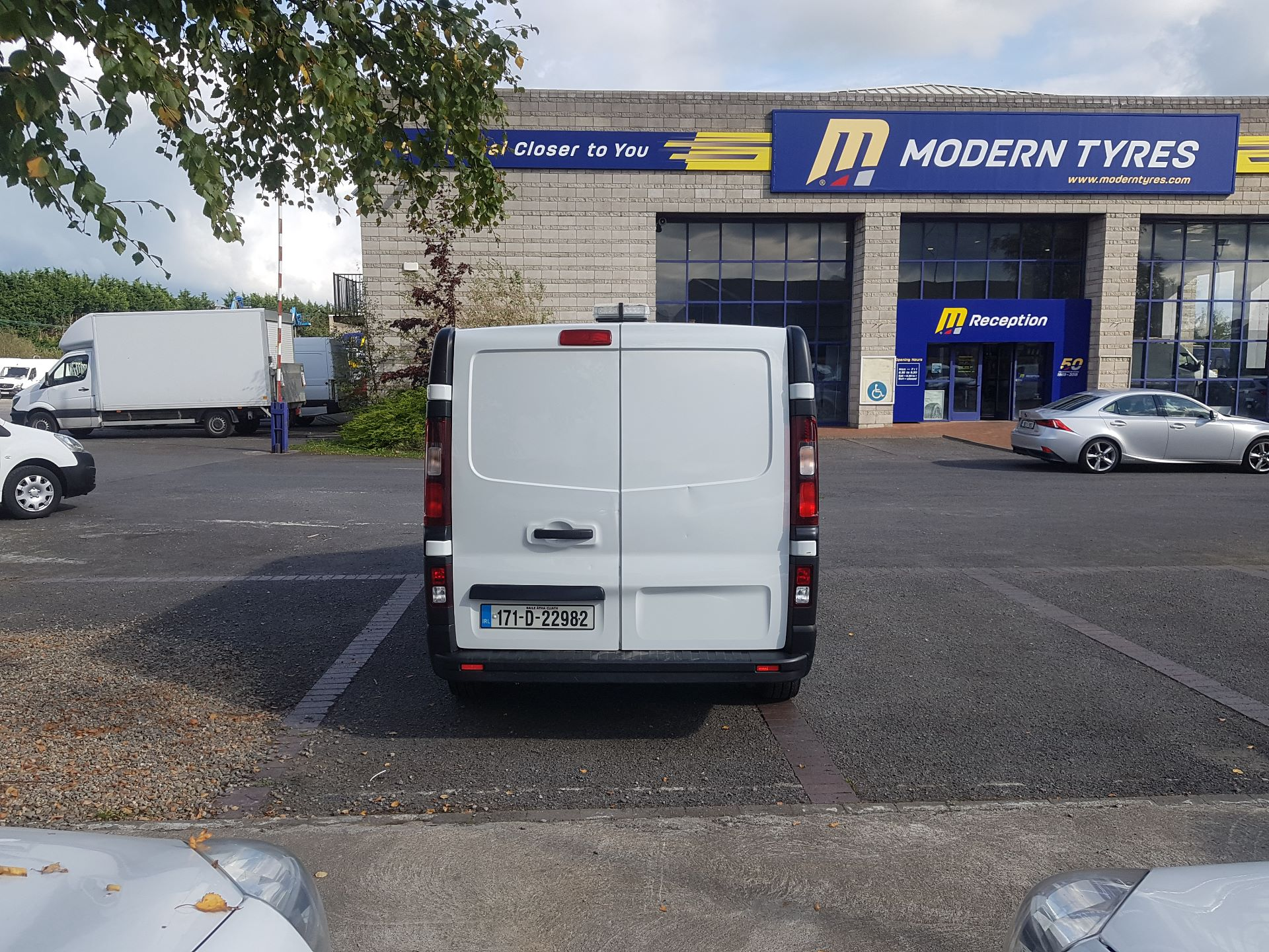 2017 Renault Trafic LL29 DCI 120 Business 3DR (171D22982) Image 3