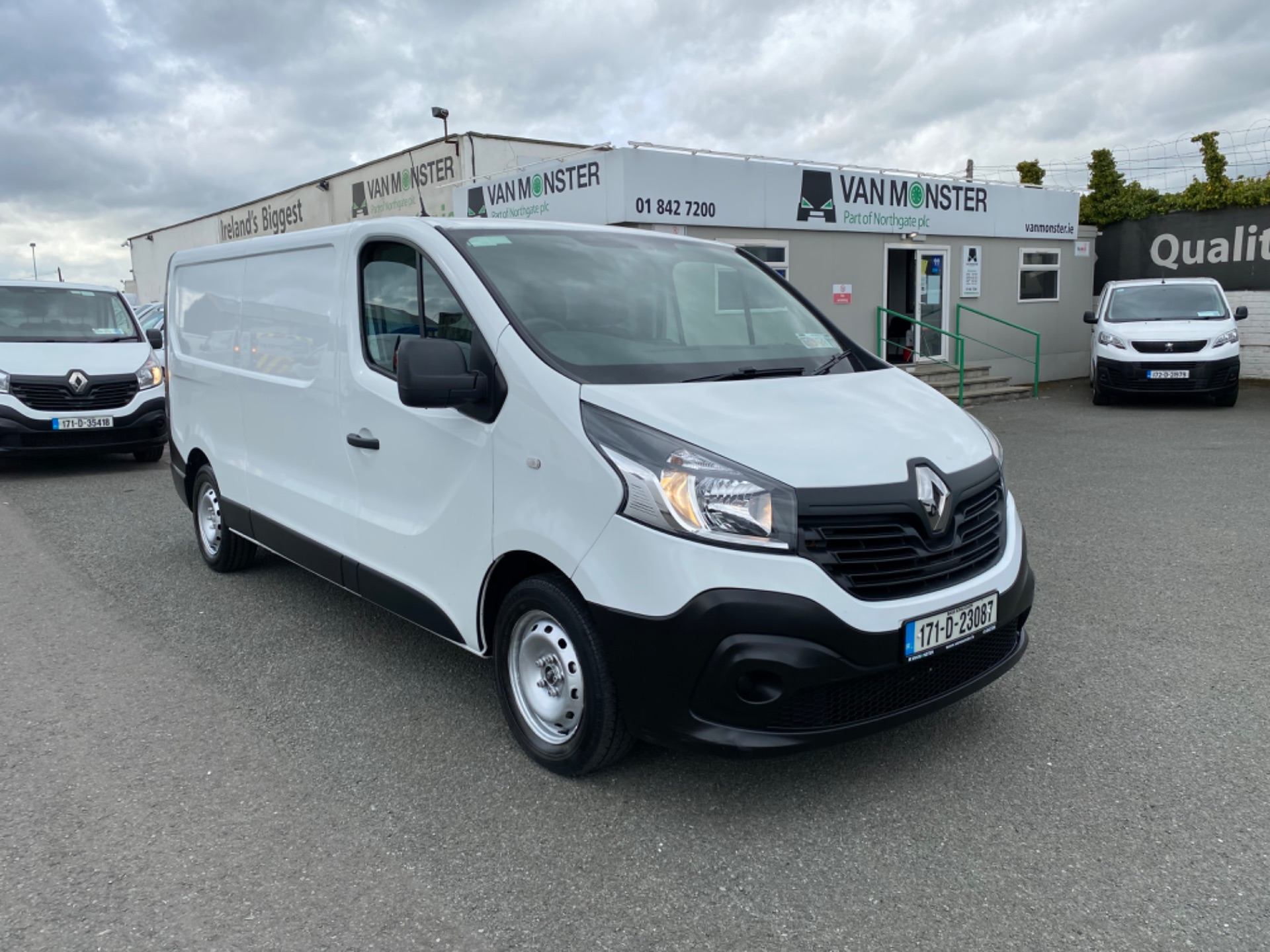 2017 Renault Trafic LL29 DCI 120 Business 3DR (171D23087)