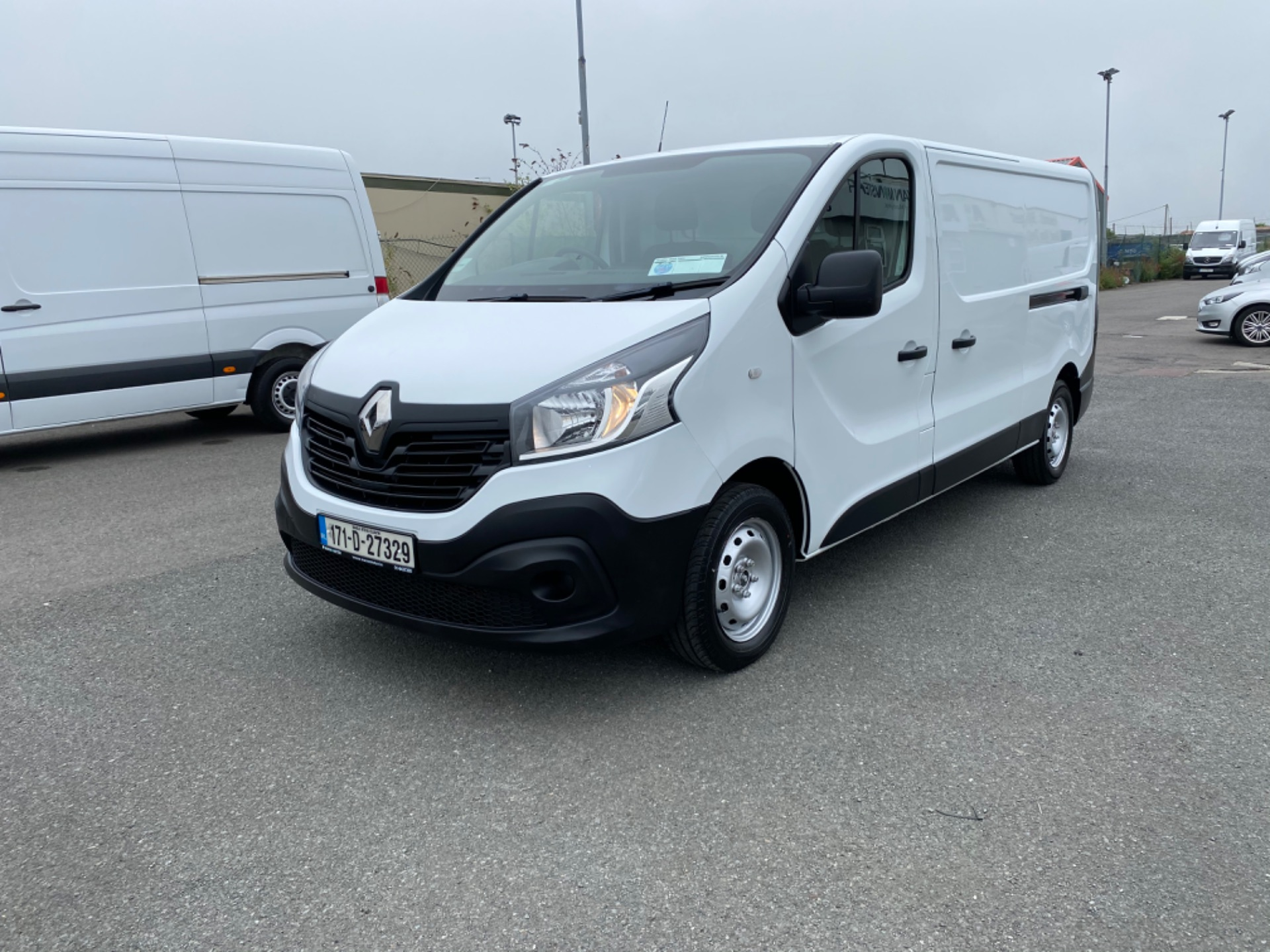 2017 Renault Trafic LL29 DCI 120 Business 3DR (171D27329) Image 3