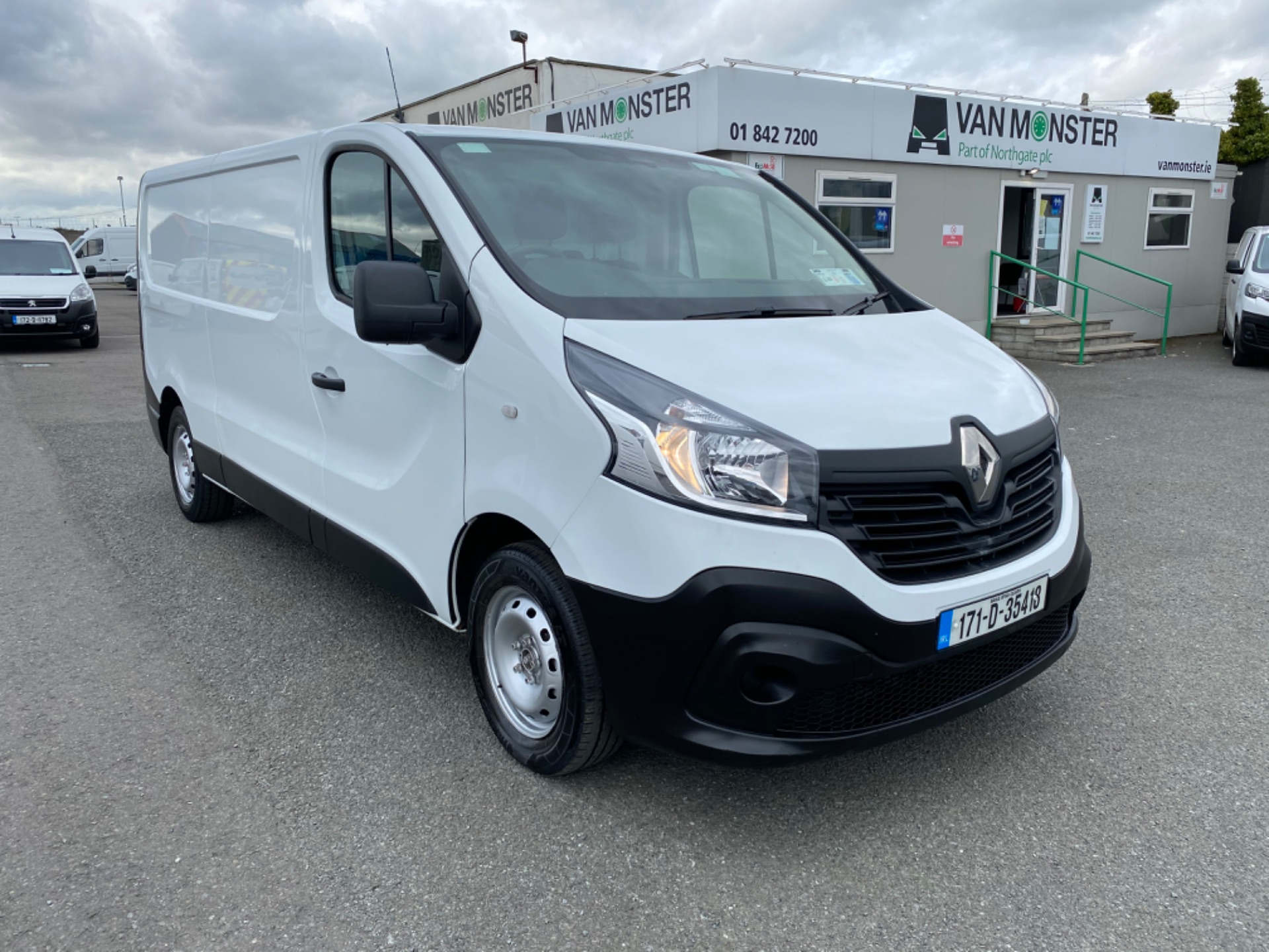 2017 Renault Trafic LL29 DCI 120 Business 3DR (171D35418) Image 1