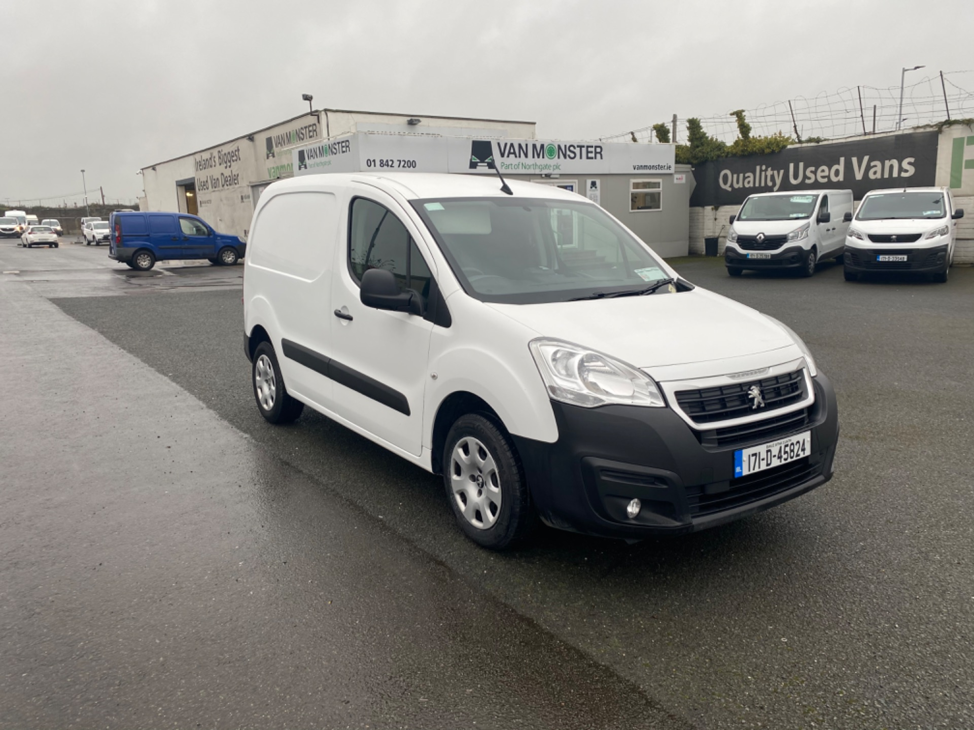 2017 Peugeot Partner Professional 1.6 Blue HDI 100 (171D45824) Image 1