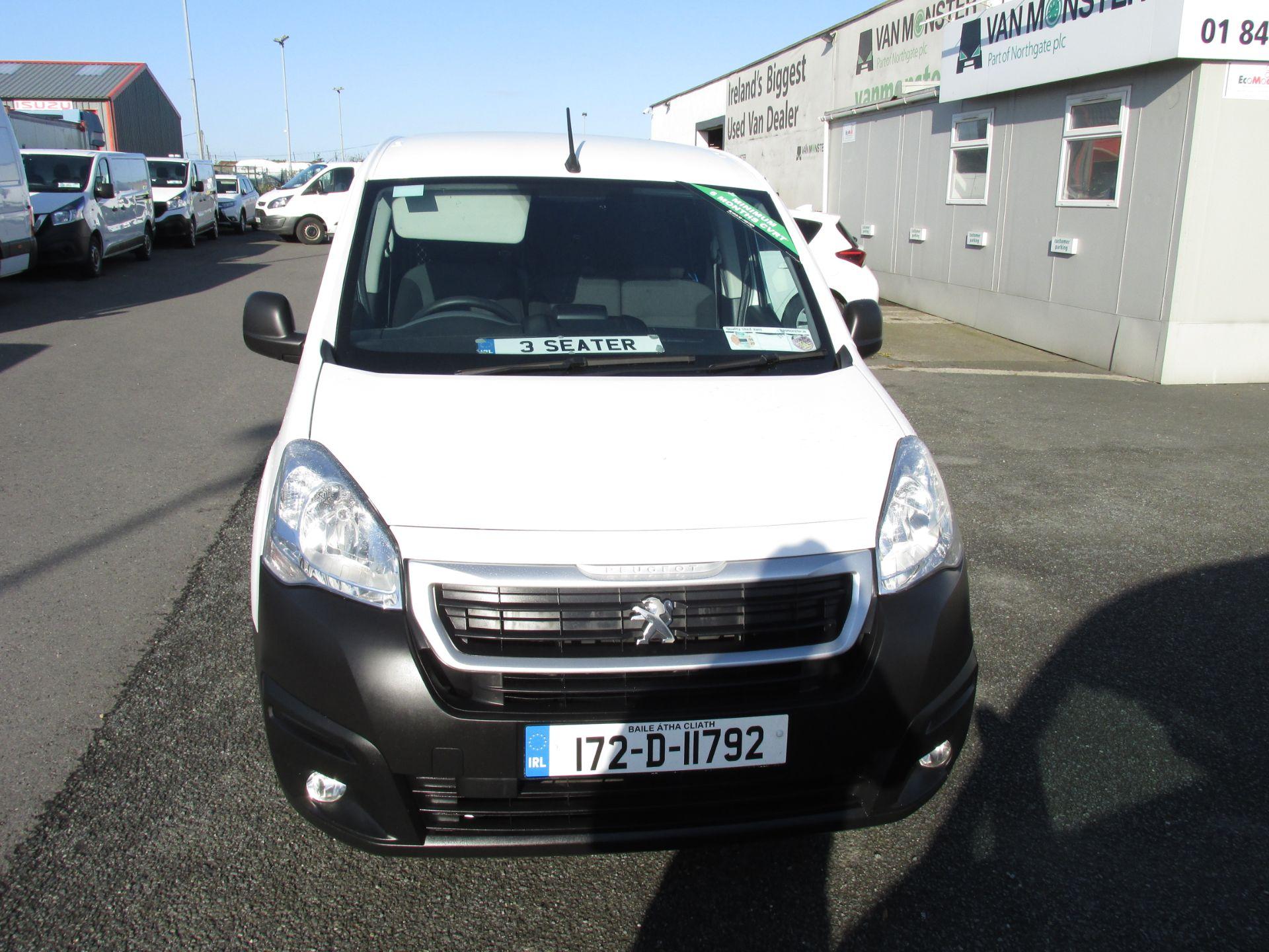 2017 Peugeot Partner 3 SEATER (172D11792) Image 2