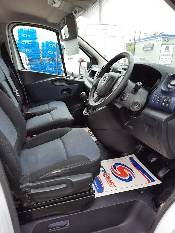 2017 Vauxhall Vivaro L2H1 2900 CDTI (172D14951) Image 8