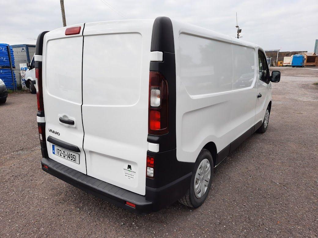 2017 Vauxhall Vivaro L2H1 2900 CDTI (172D14951) Image 10