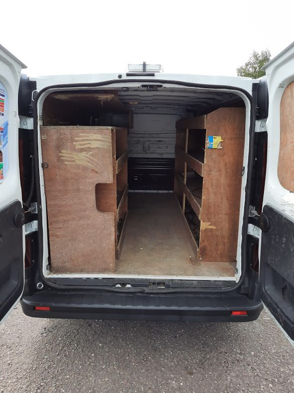 2017 Renault Trafic LL29 DCI 120 Business 3DR (172D19333) Image 12