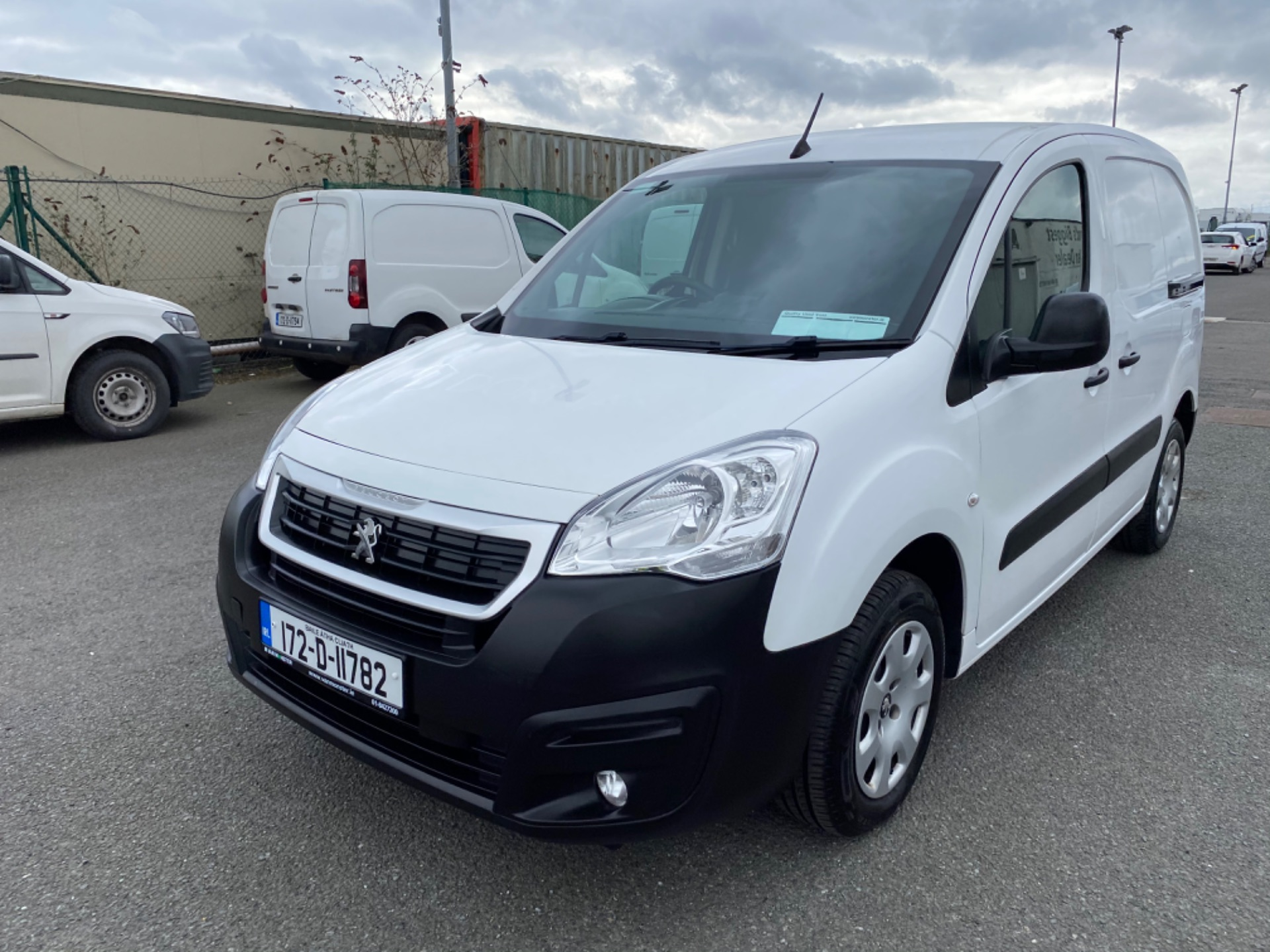 2017 Peugeot Partner Professional 1.6 Blue HDI 100 (172D11782) Image 3