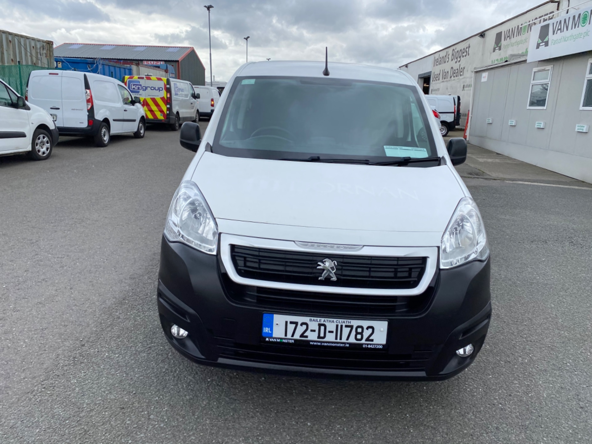 2017 Peugeot Partner Professional 1.6 Blue HDI 100 (172D11782) Image 2