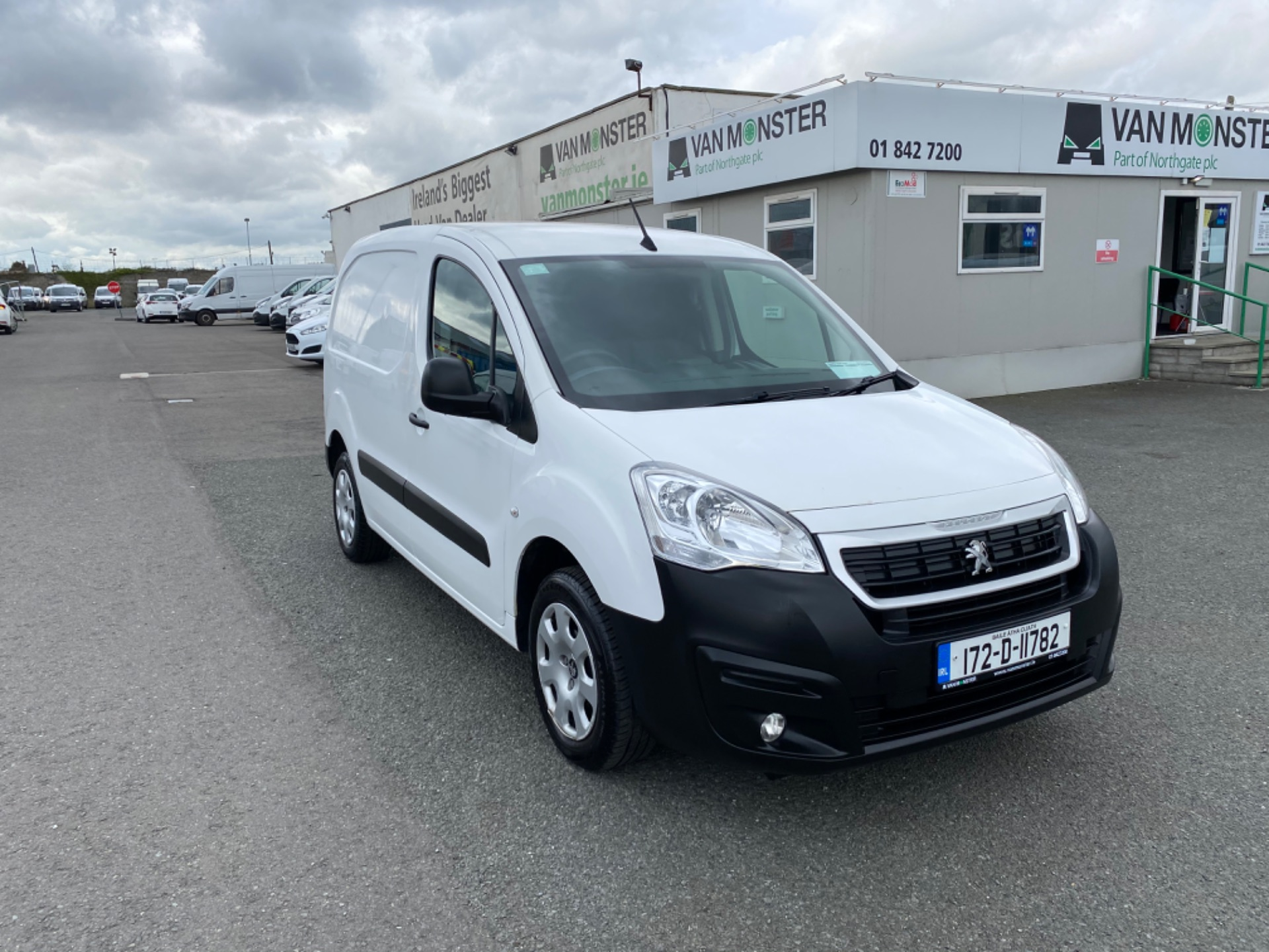2017 Peugeot Partner Professional 1.6 Blue HDI 100 (172D11782) Image 1