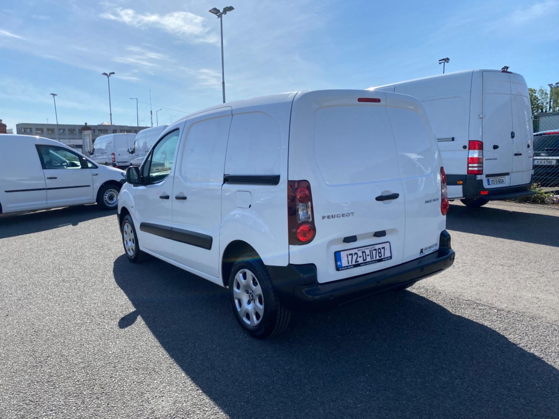 2017 Peugeot Partner Professional 1.6 Blue HDI 100 (172D11787) Image 5
