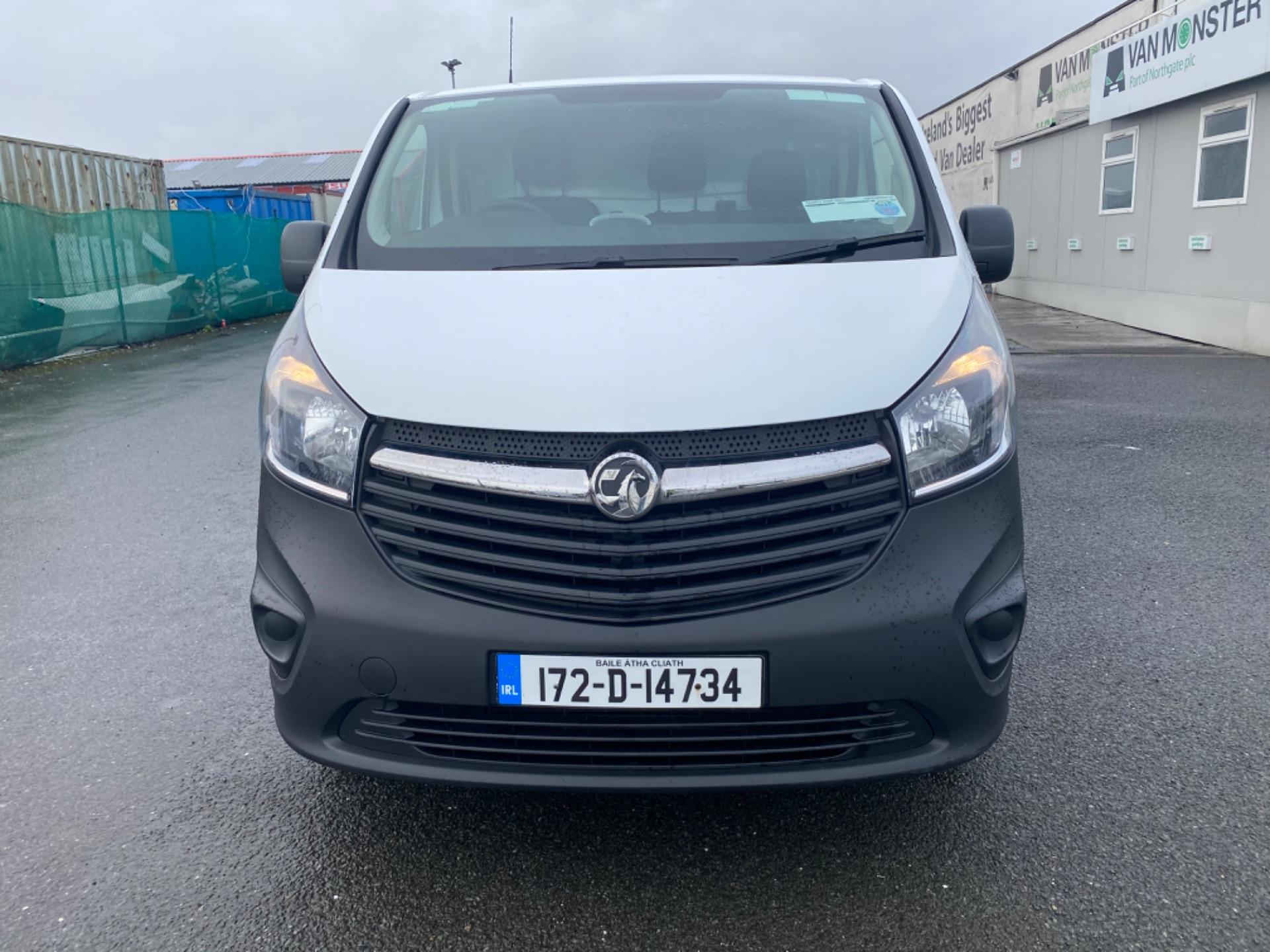 2017 Vauxhall Vivaro L2H1 2900 CDTI (172D14734) Image 2