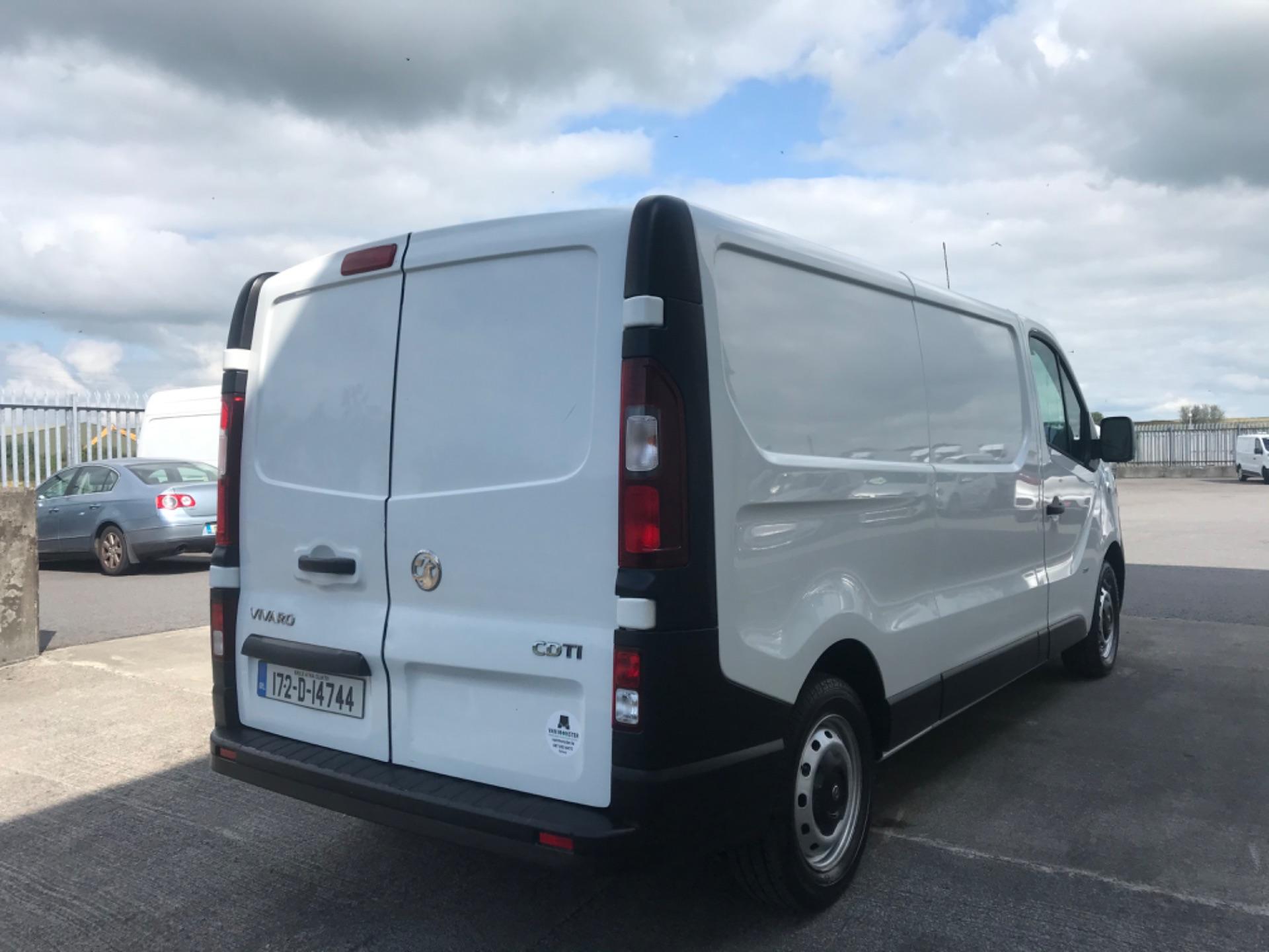 2017 Vauxhall Vivaro L2H1 2900 CDTI (172D14744) Image 5