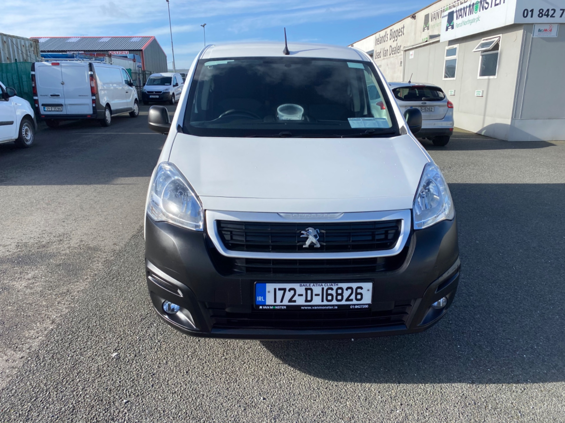 2017 Peugeot Partner Professional 1.6 Blue HDI 100 (172D16826) Image 2