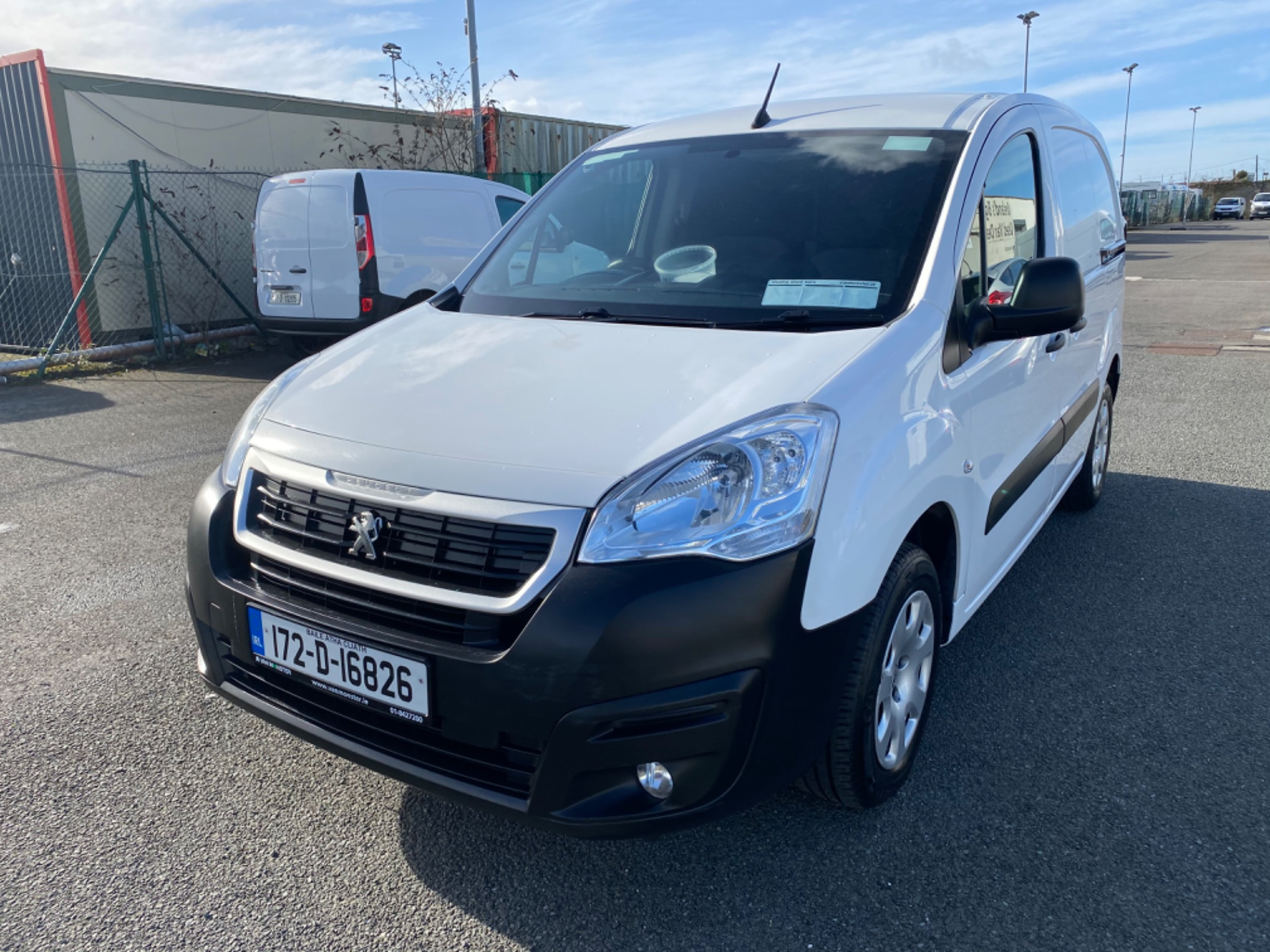 2017 Peugeot Partner Professional 1.6 Blue HDI 100 (172D16826) Image 3
