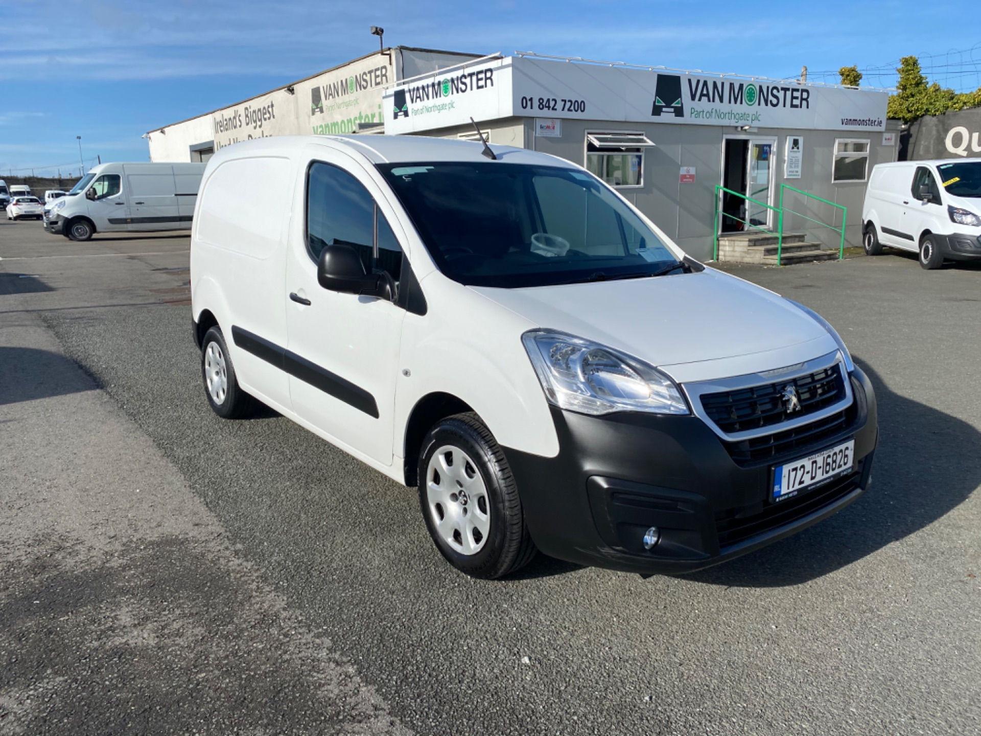 2017 Peugeot Partner Professional 1.6 Blue HDI 100 (172D16826) Image 1
