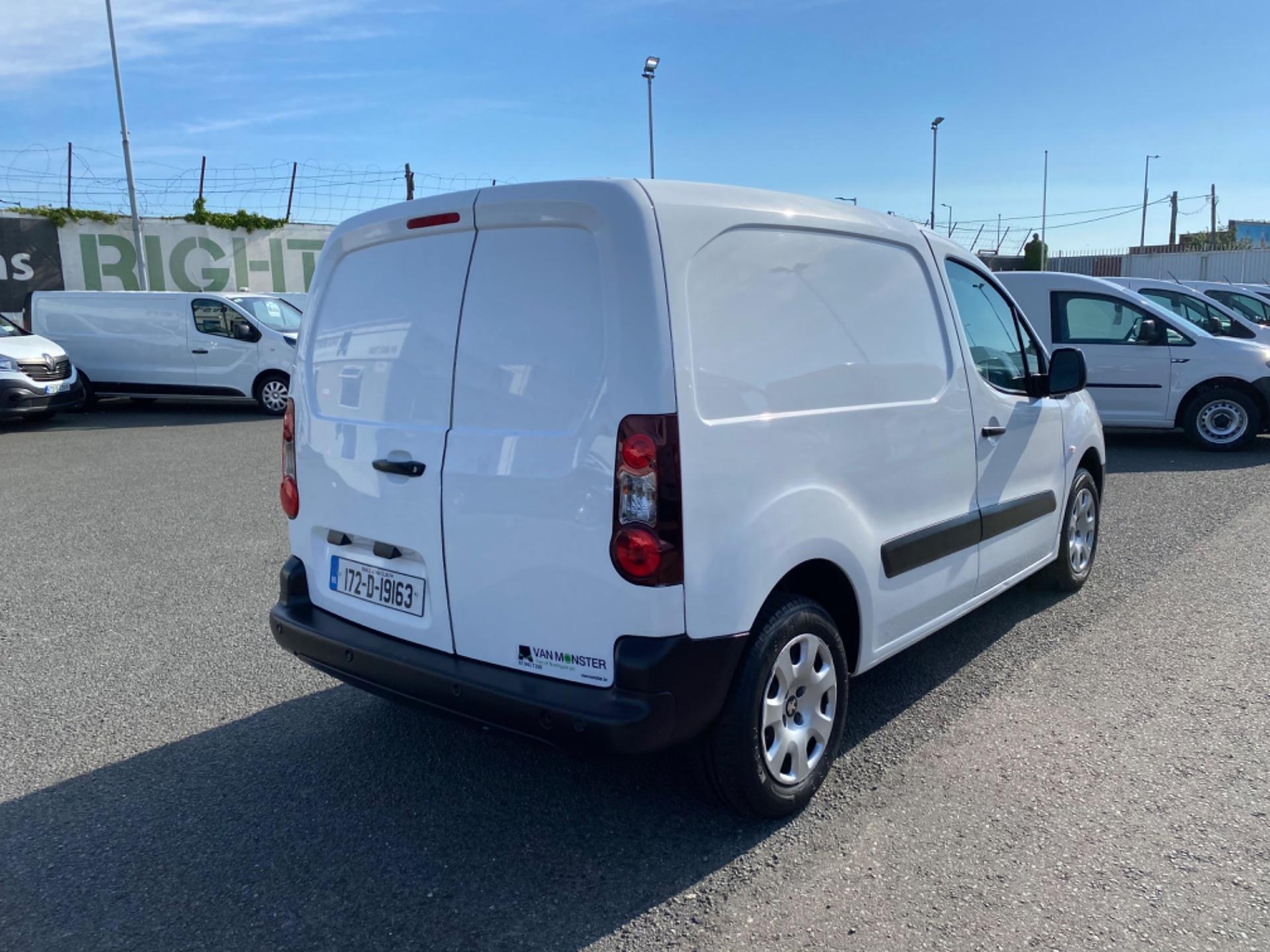 2017 Peugeot Partner Professional 1.6 Blue HDI 100 (172D19163) Image 5