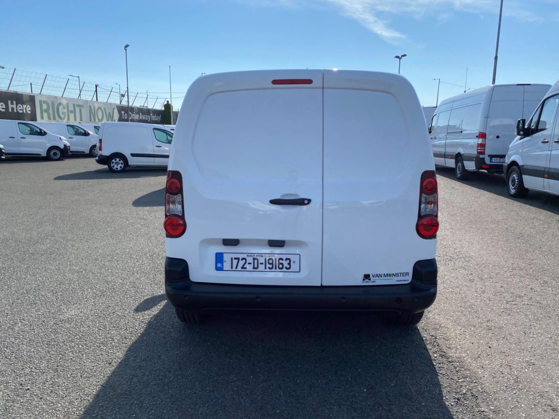 2017 Peugeot Partner Professional 1.6 Blue HDI 100 (172D19163) Image 4