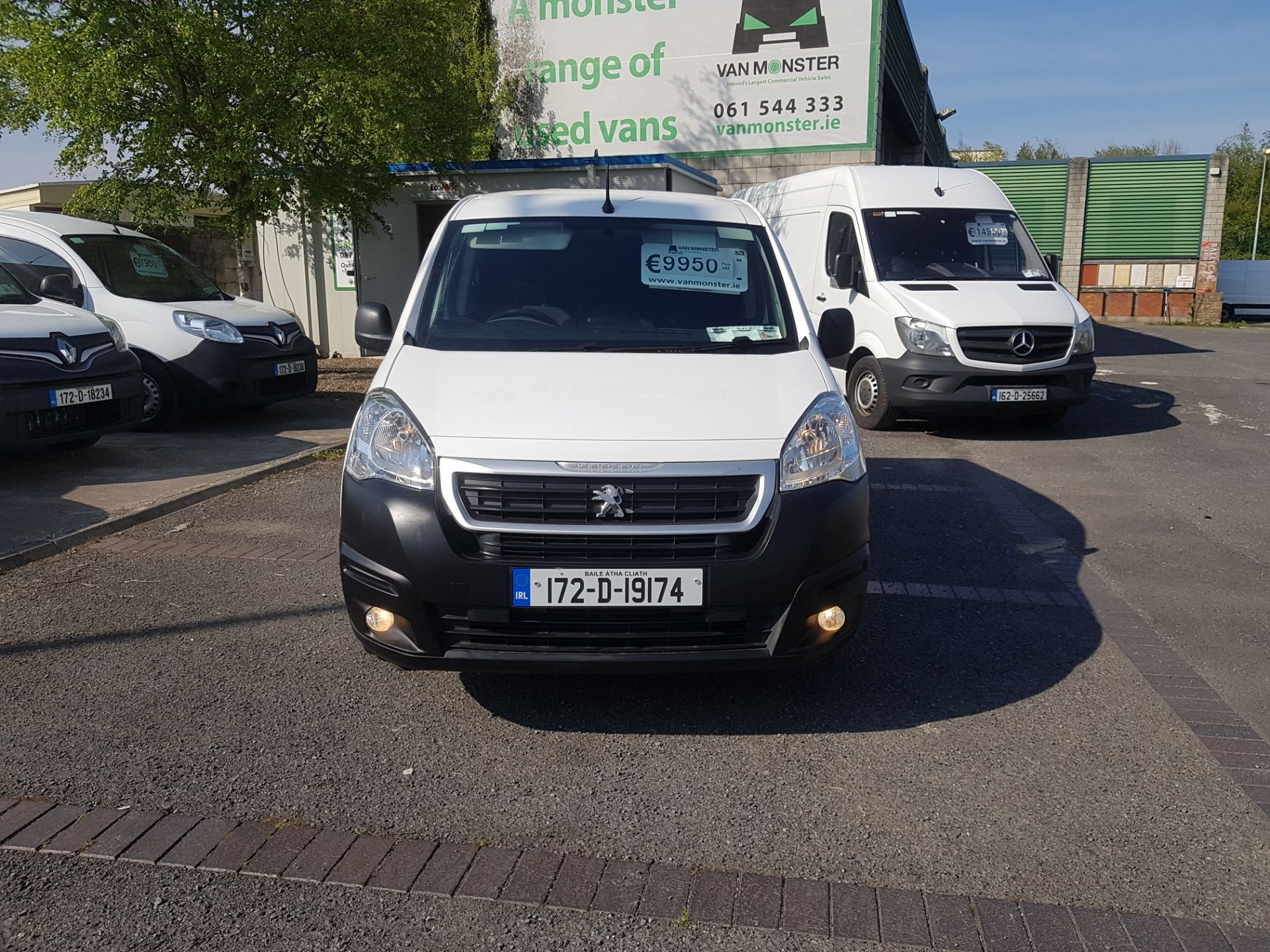 2017 Peugeot Partner Professional 1.6 Blue HDI 100 (172D19174) Image 8