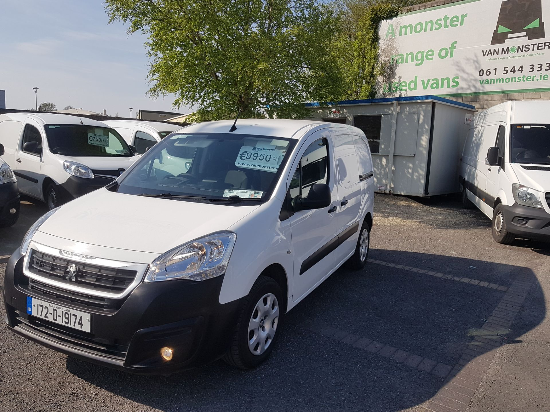 2017 Peugeot Partner Professional 1.6 Blue HDI 100 (172D19174) Image 7